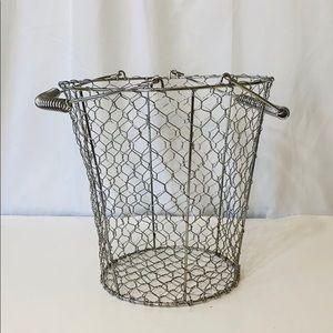 Other - Wire Mesh Basket Storage Planter Large